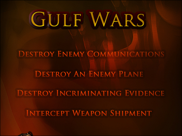 Gulf Wars MySpace Application