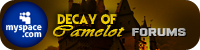 Decay of Camelot RPG MySpace Application