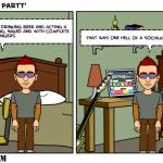 Party Time SocialKicks Comics